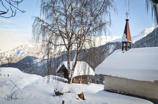 Chapelle de la ferme de l'Aubrac au Corbier